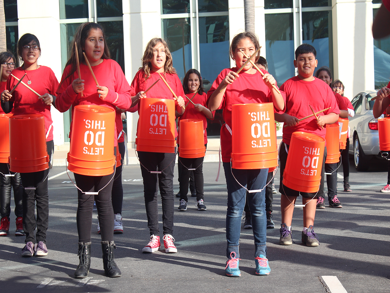 Drum Line – A World Fit For Kids!