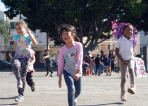 Girls Skipping - A World Fit For Kids